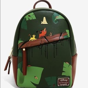 Loungefly Lion King mini backpack and wallet set